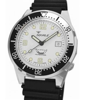 Squale Professional 1521-026-S White dial