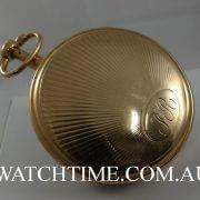 R.E Pond Paris 18k Gold Quarter Repeater