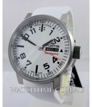Fortis Spacematic White Ltd  Edn