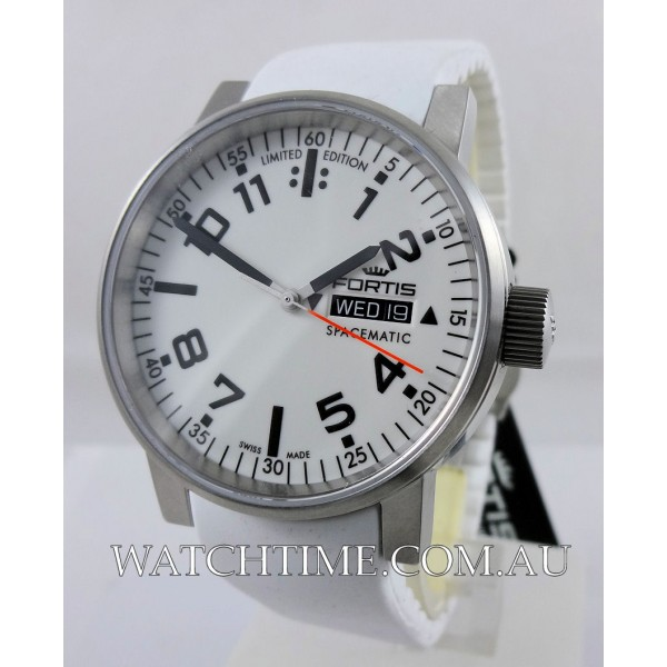 Fortis Spacematic White Ltd. Edn.