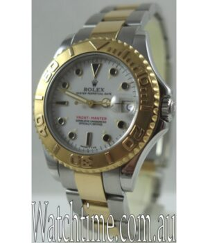 Rolex Yachtmaster 18k Gold   steel Mid Size