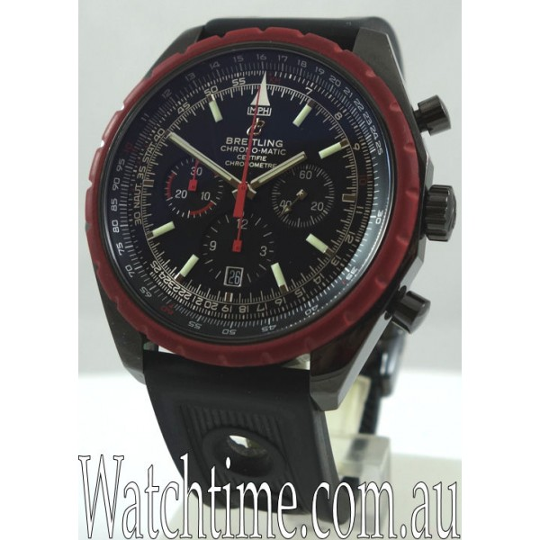 BREITLING Chrono-Matic Blacksteel ... Limited!