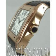 Cartier Santos 100 Solid 18ct PINK Gold