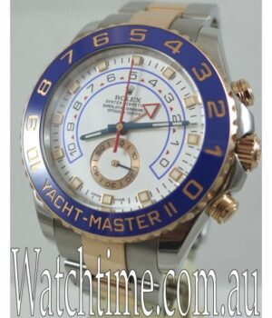 Rolex 116681 Steel   18k Rose Gold Yacht-Master II Box   Papers