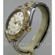Rolex Datejust II FACTORY DIAMOND DIAL 116333 JULY 2012