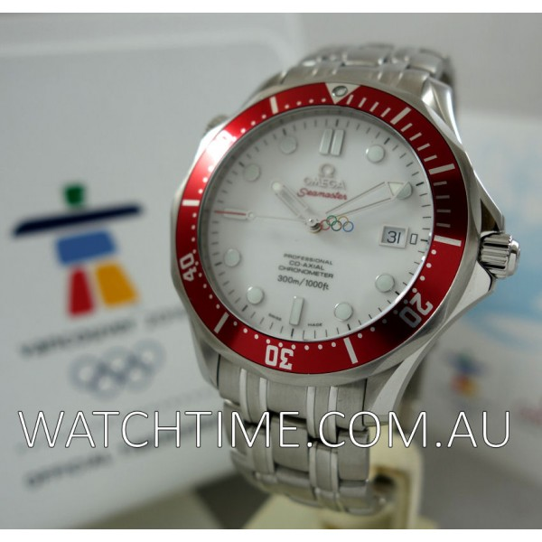 Omega Seamaster Professional 300m Ltd Edition Vancouver Olympics