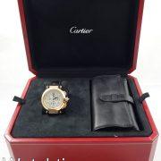 Cartier Pasha Chronograph, 18k Pink-Gold