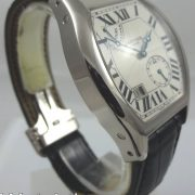 Cartier TORTUE 18k White-Gold 8-Days