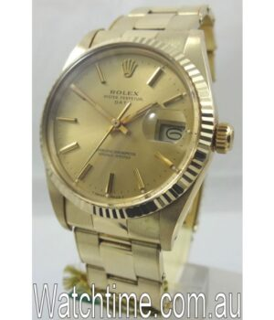 Rolex Oyster Date Gold