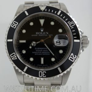 Rolex Submariner Date 16610 Last Series  2010