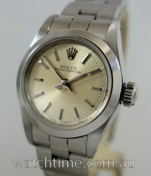 Rolex Lady-Oyster Perpetual with Papers