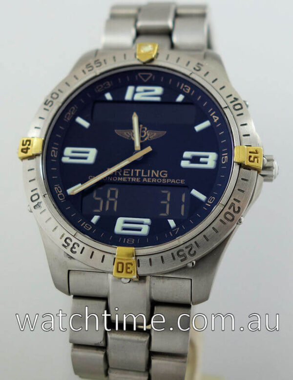 """BREITLING Aerospace """"Repetition Minutes""""  F75362-M5549"""