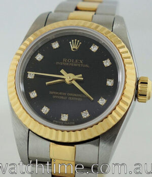Rolex Lady Oyster Diamond dial 76193