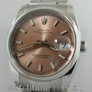 Rolex OysterDate 36  Salmon dial  115200