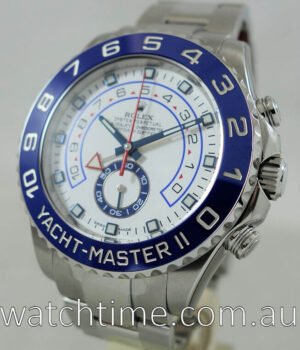 Rolex Yacht Master II Steel April 2016 Box   Papers 116680