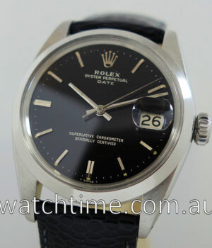 Rolex Oyster Perpetual Date 1967 papers