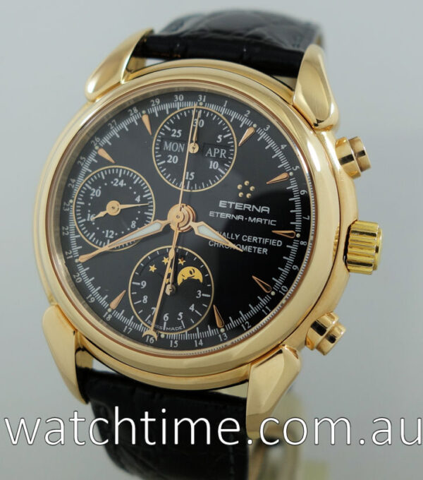 ETERNA Matic 1948 Moonphase Chronograph 18k