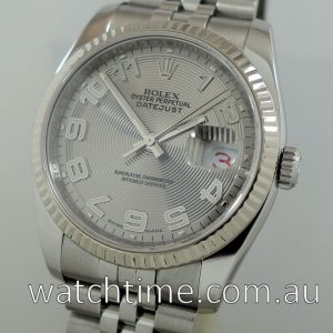 Rolex Datejust 116234 White-Gold bezel