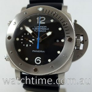 PANERAI PAM 614 Luminor Submersible 1950 3 Days Chrono Flyback Titanium