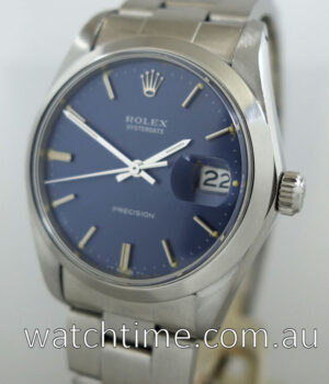 Rolex Oyster Date  6694  Blue dial