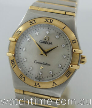 Omega Constellation Ladies Mother of Pearl  Diamonds