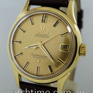 Omega Constellation Calendar  18k  Gold