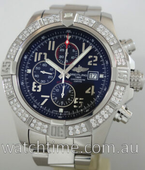 Breitling Super Avenger II A1337153 with Diamonds