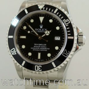 Rolex SeaDweller 16600 Box   Papers