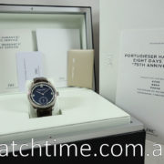 "IWC PORTUGIESER HAND-WOUND EIGHT DAYS EDITION ""75TH ANNIVERSARY"" IW510205"