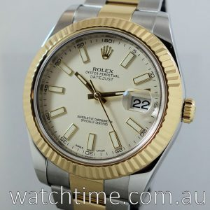 Rolex Datejust II 18k Yellow Gold   Steel 116333