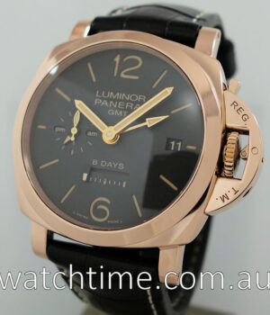 PANERAI 18K PAM576 1950 8 day GMT  Box   Papers