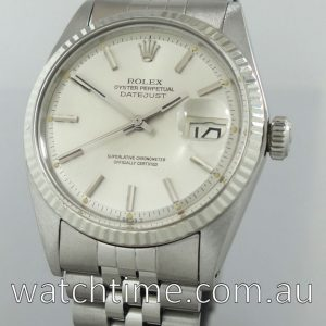 Rolex Datejust  White-Gold bezel 1972