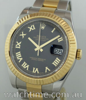 Rolex Datejust II 18k Gold and Steel 116333