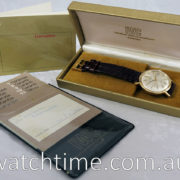 IWC 18ct Gold, Automatic  ref 1818