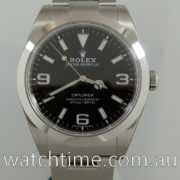 Rolex Explorer I  39mm  214270  May 2018