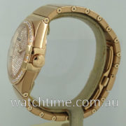 OMEGA Constellation 38mm Red Gold, Pave Diamond-dial 123.55.38.20.99.004