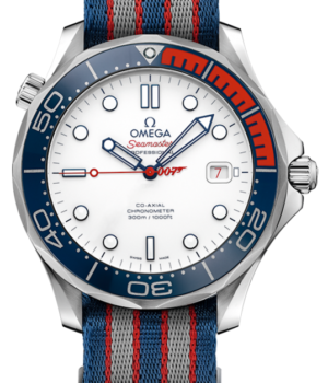 Omega Seamaster Co-Axial James Bond 007 Commanders July 2017 AS NEW