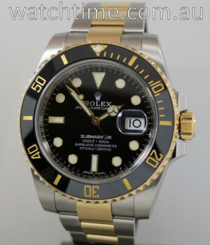 Rolex Submariner Gold and Steel  116613LN  June 2017