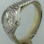 Rolex Lady Datejust Platinum & Diamonds 69136