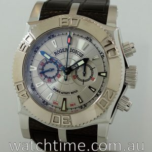 ROGER DUBUIS  Easy Diver Chrono  Just for Friends  SE46 56 9 0 3 53