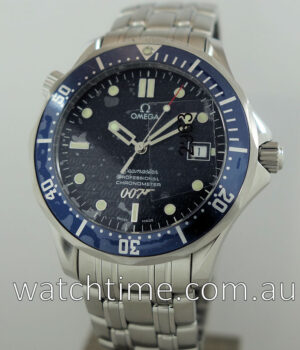 Omega Seamaster James Bond 40th Anniversary Limited Edition AS NEW  IN PLASTIC