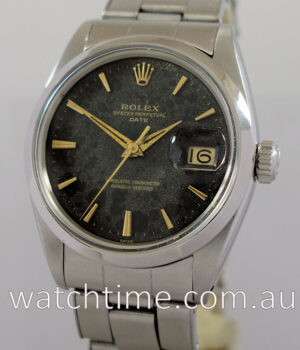 Rolex Oyster Date  Automatic with Black dial circa 1966