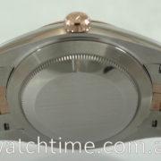 Rolex Datejust II Chocolate Diamond-dial, 18k Everose & Steel 126301