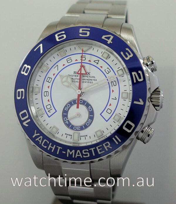 Rolex Yacht-Master II Steel 2018 Box & Papers 116680