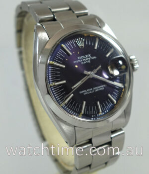 Rolex Oyster Date  Automatic with  Purple dial  circa 1968