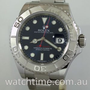 Rolex Yacht-Master 116622 Blue dial  May 2016