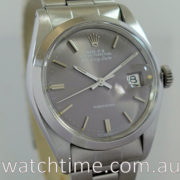 Rolex Air-King Date  c 1973  Grey-dial