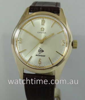 1966 OMEGA 9ct Yellow-Gold for Dunlop