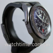 "BREITLING Bentley GMT Chronograph ""MIDNIGHT CARBON"" M47362"