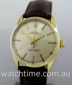 Rolex Oyster Perpetual  Gold-capped 1966